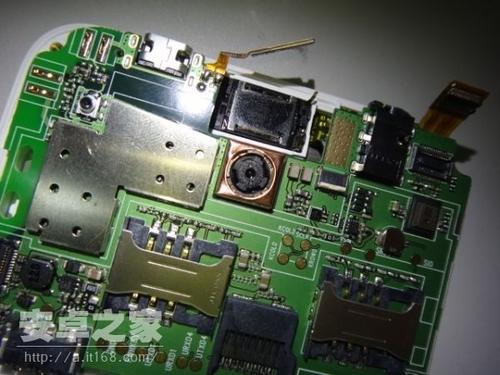 联想手机s868t内部主板结构