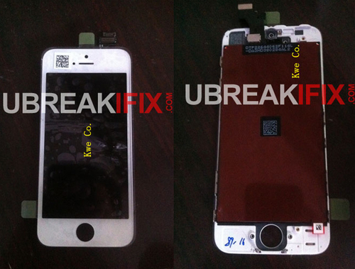 iPhone5已无悬念 4寸前面板谍照再流出