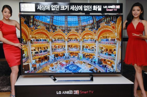 LG 84寸4K电视韩国正式出货 售价14万元