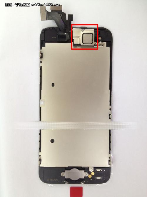 支持NFC功能 iPhone5 In-Cell面板泄露