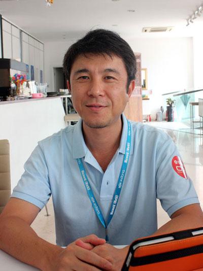 携神码开拓市场 专访雅马哈西村淳先生