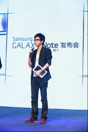 Note新时代 三星GALAXY Note 10.1发布