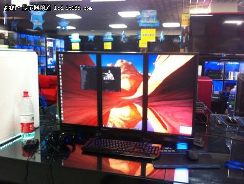 三菱专业显示器在北京百脑汇设体验中心