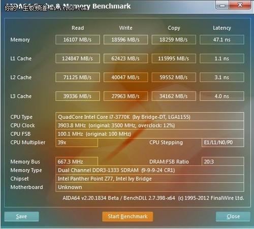 技嘉Z77X-UP5TH主板测试平台介绍