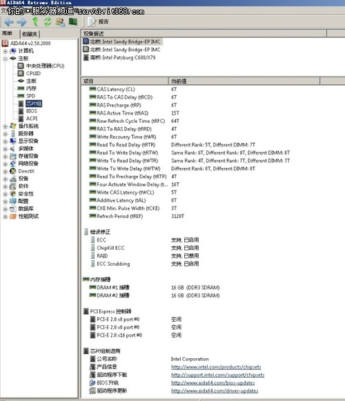 AID64软件识别信息
