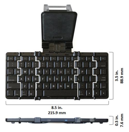 Jorno可折叠蓝牙键盘现Kickstarter网站
