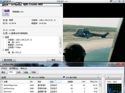 AMD 新一代APU——视频解码测试