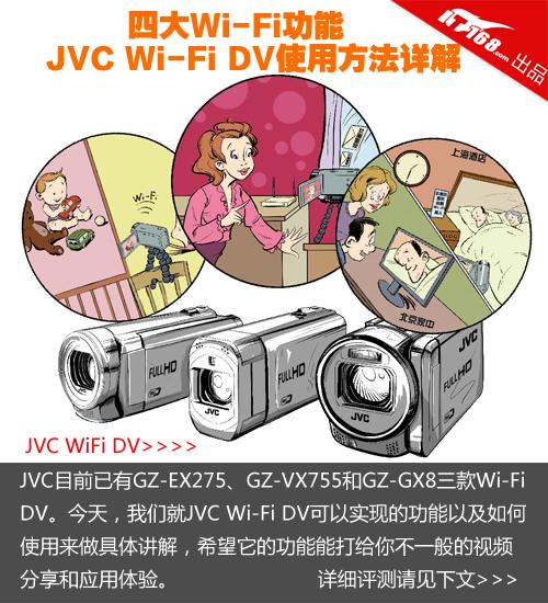 �Ĵ��� JVC Wi-Fi�����ʹ�÷������