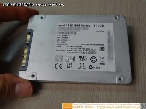 新品不算贵 Intel SSD 335终于上市开卖