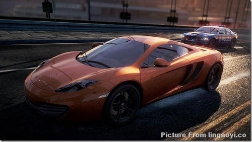 EA发售前预热 极品飞车17最新游戏截图