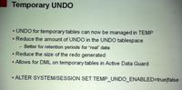 Oracle Database 12c新特性-临时UNDO段