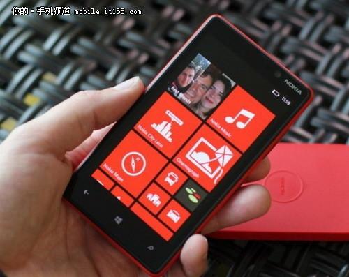 定价3800元 WP8系统诺基亚Lumia820上市