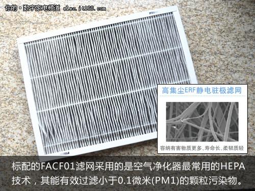 菲尔萃优净型升级版空气净化器包装附件