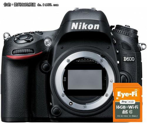 新固件升级 尼康D800/D800E兼容Eye-Fi