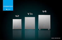 还嫌V3不够火 乔思伯再推出V2和V4机箱