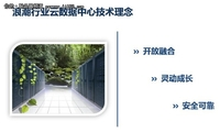 浪潮张东:解读浪潮行业云数据中心理念