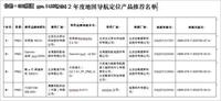 中国卫星导航定位协会年度推荐品牌