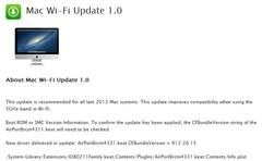 OS X发布WiFi更新 提高5GHz频段兼容性
