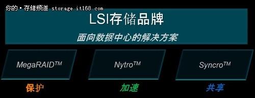 LSI存储部门三大战略:保护、加速与共享