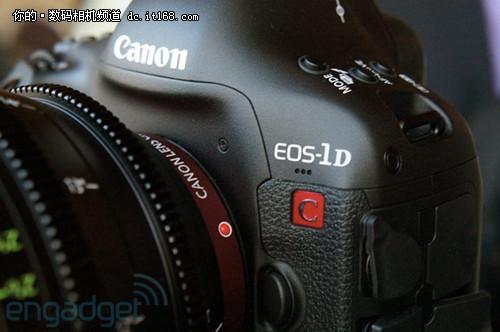 首款4K影像单反 佳能EOS-1D C日本上市