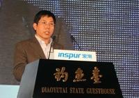 天梭K1发布会 科技部副司长杨咸武致辞