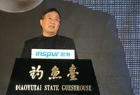 天梭K1发布会 山东科技厅副厅长崔建海