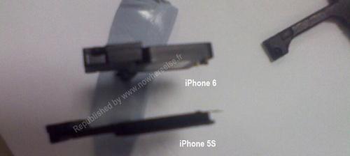 iPhone5S和iPhone6部件谍照曝光