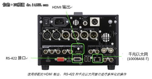 索尼宣布推出新型存储卡录像机PMW-1000