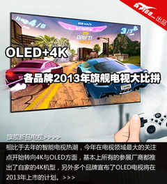 OLED+4K 各品牌2013年旗舰电视大比拼