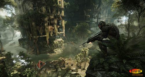 《孤岛危机2》当中的先知,研发出一个致命的复合弓箭,增强的纳米服和