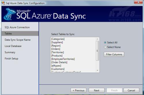 SQL Azure Sync