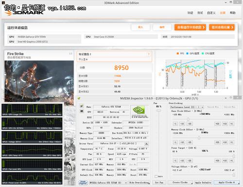 NVIDIA GTX Titan超频测试