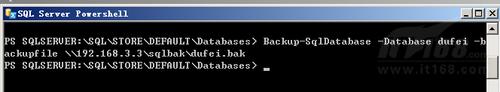 SQL Server PowerShell管理示例
