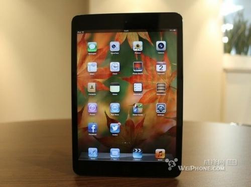 传iPad mini2将用A7处理器 机身更薄