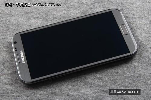 5寸四核双卡 三星Note2蓝色亮相-IT168 手机专