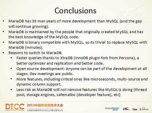 全面解读MariaDB 开发版本与未来之路