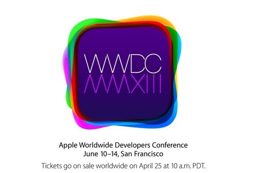 iOS7/OS X发布 苹果6月召开WWDC