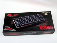 游戏玩家首选凌豹机械师无冲版机械键盘