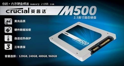 20nm MLC新品 英睿达M500固态硬盘评测