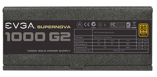 EVGA推出千瓦金牌电源