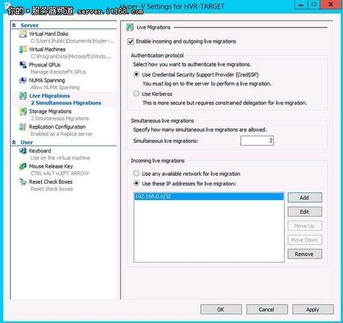 Hyper-V 3.0深度评测:虚拟机迁移功能