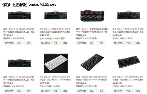 机械键盘历史回顾与市场概况