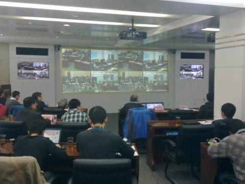 视频会议为雅安抗震救灾提供应急指挥