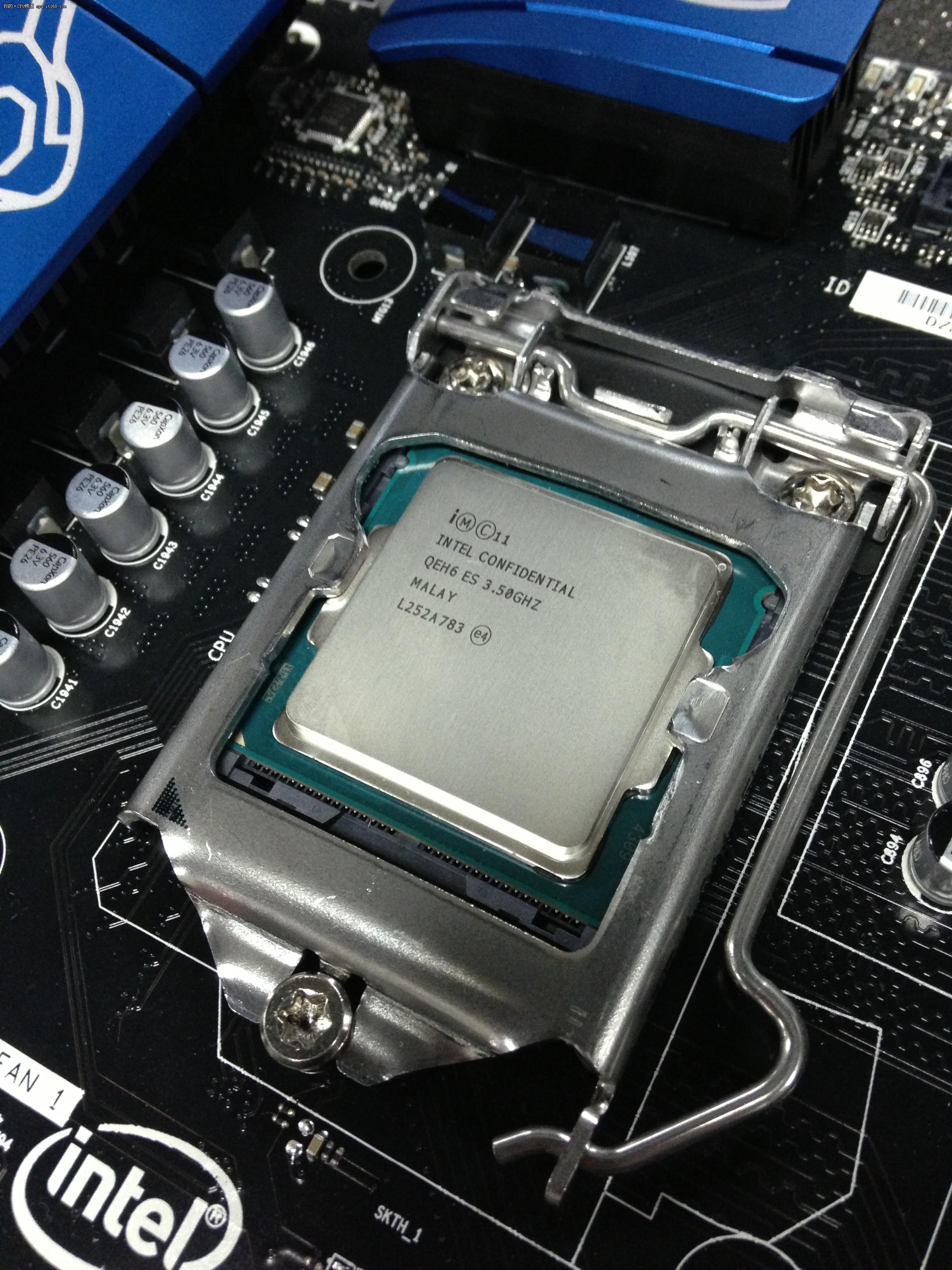 【图】全新四代酷睿 intel core i7 4770k评测 - cpu