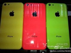 廉价版iPhone真机曝光 绿色配色