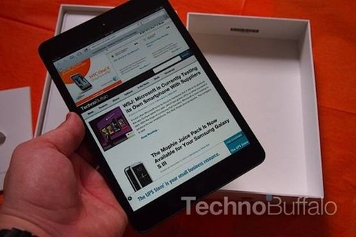 传苹果iPad mini 2售价或在1550元左右