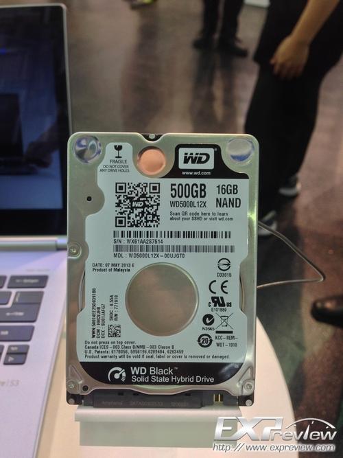 西数5毫米 24GB闪存混合硬盘曝光