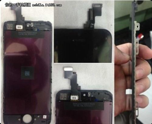 iPhone5S屏幕照曝光 尺寸维持4寸