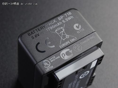 更多存储空间 宝宝DV佳能HF R48评测