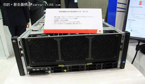 展研发实力 华为863成果展秀自研服务器